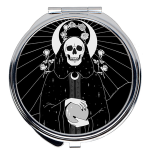 High Priestess Compact Mirror - Moon Goddess Market