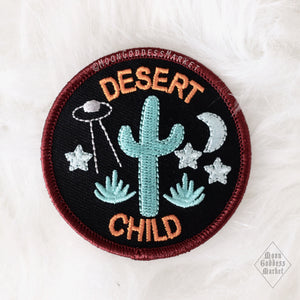 Moonbeams Special Edition Patches - Desert Child ©MoonGoddessMarket - Moon Goddess Market