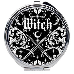 Witches Compact Mirror - Moon Goddess Market