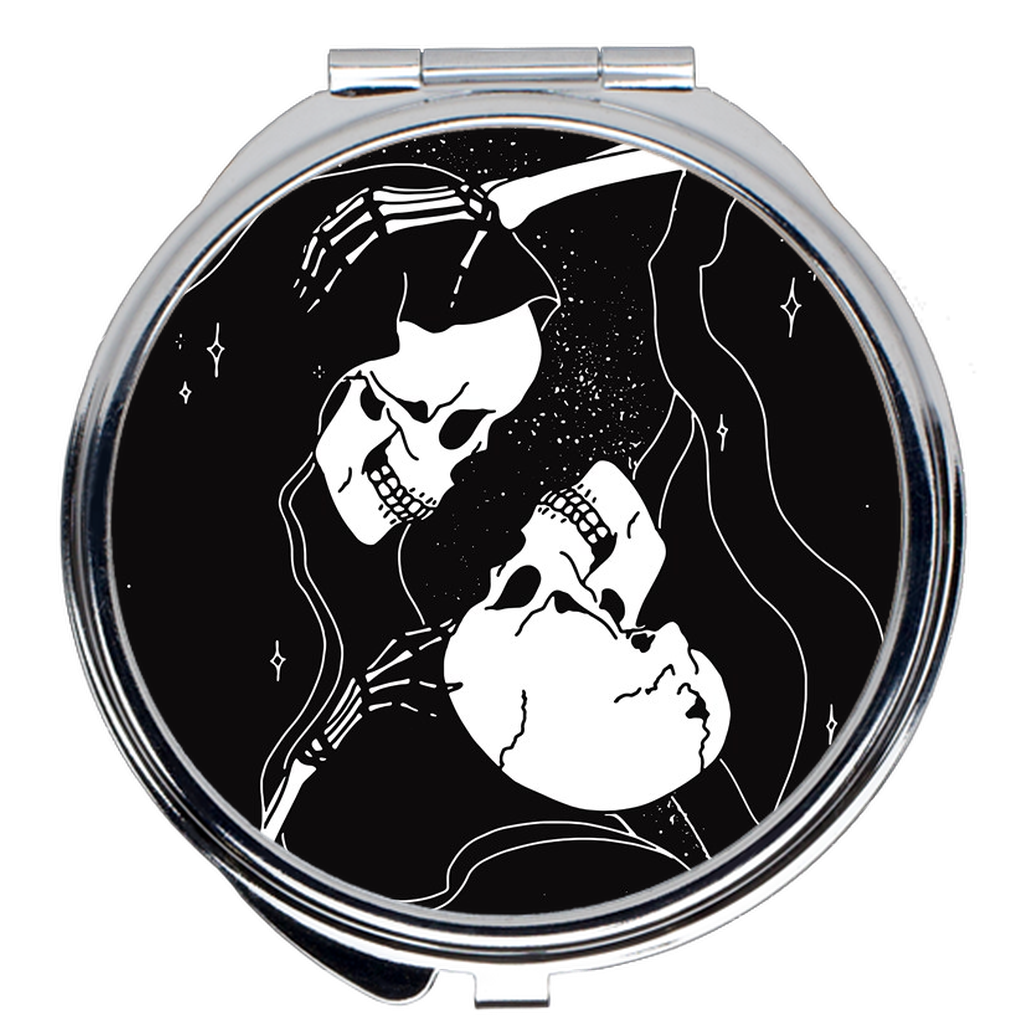 Lovers Compact Mirror by Moon Goddess Market - Moon Goddess Market