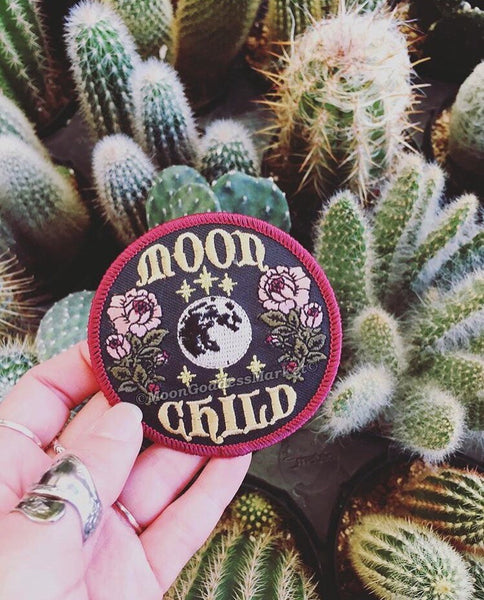 "The ONLY & ORIGNIAL Moon Child Moon Goddess Patch! 3"" Iron on patch - Moon Goddess Market"