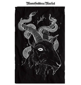 Goat God Backpatch As Seen On Slasher Season 3 - Moon Goddess Market