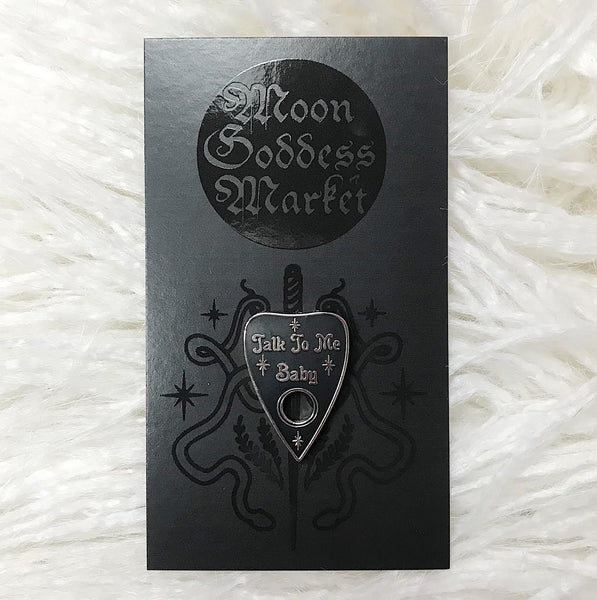 Lapel Pin | Buy Together or separately | WITCH | Ouija | Pagan | Planchette - Moon Goddess Market