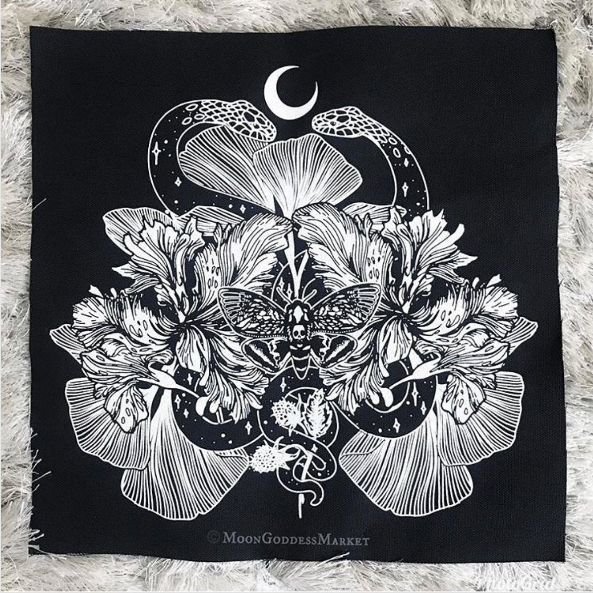Celestial Garden Backpatch by Moon Goddess Market - Moon Goddess Market