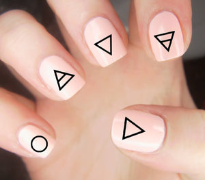 30 Elements Nail Decals | Water Slide | Easy & Fun - Moon Goddess Market