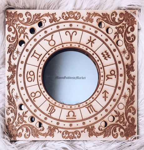 Astrology Mirror by Moon Goddess Market - Moon Goddess Market
