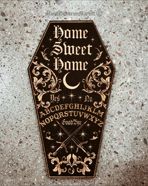 Home Sweet Home Wall Hanging Plaque - Moon Goddess Market