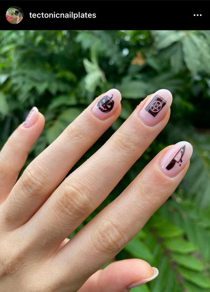 Halloween Horror Nail Decals