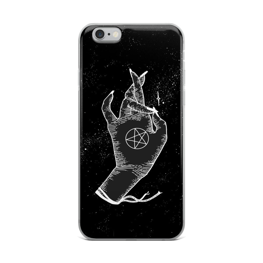 Pentacle Protector iPhone Case - Moon Goddess Market