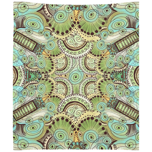 Belle Epoque Pattern Wall Tapestry