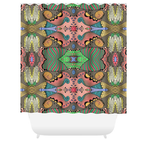 Tulip Mania Shower Curtain