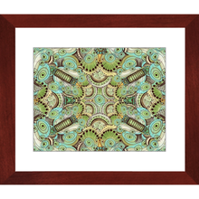 Belle Epoque Pattern Framed Art Print