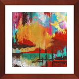 Fire in the Sky Framed Art Print