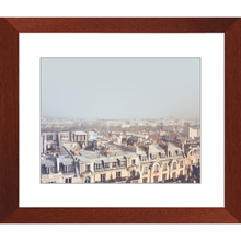 Paris Morning Rooftops Framed Art Print