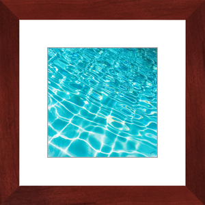 Pool Ripples Framed Art Print