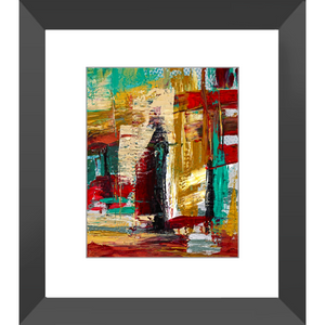San Francisco Street Framed Art Print