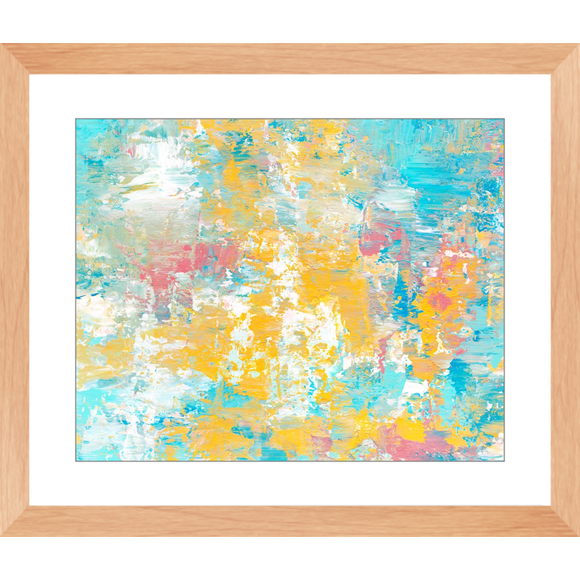 Winter Sunrise Framed Art Print