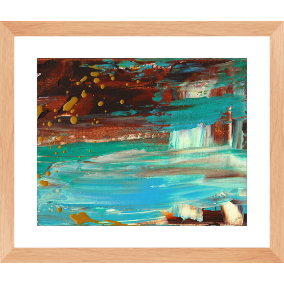Paradise Cove Framed Art Print