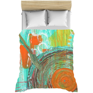 Big Band Duvet Cover