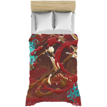 City of Vernon Duvet Cover