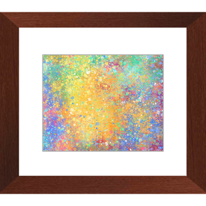 Interstellar Framed Art Print