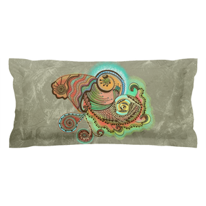 Cornucopia Pattern Pillow Sham