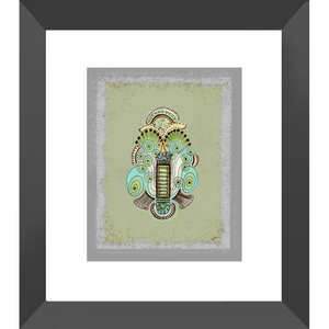 Belle Epoque Framed Art Print