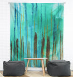 Beach Fence Wall Tapestry
