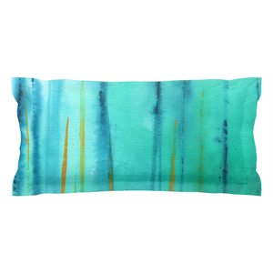 Beach Fence Pillow Sham
