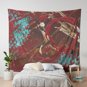 City of Vernon Wall Tapestry