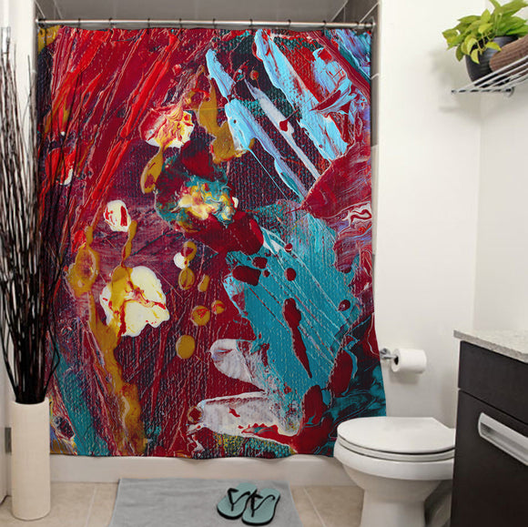 Comic Book Hero Shower Curtain