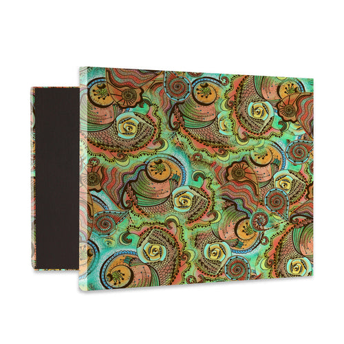 Cornucopia Pattern Canvas Reproduction