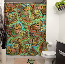 Cornucopia Pattern Shower Curtain