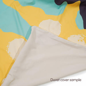 Silent Era, Baby Blue Duvet Cover