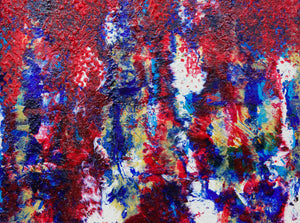 Patriotic Melt Original Canvas