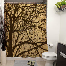 Ljubljana Weeping Shower Curtain