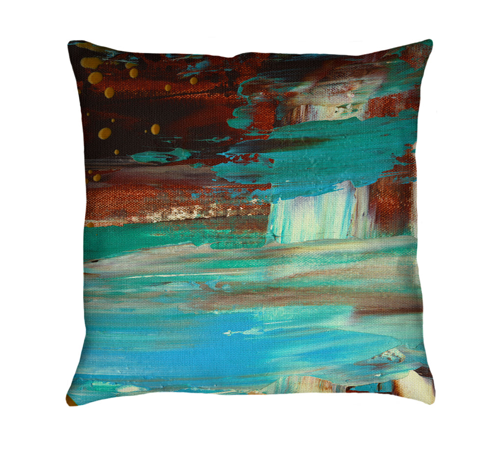Paradise Cove Throw Pillow