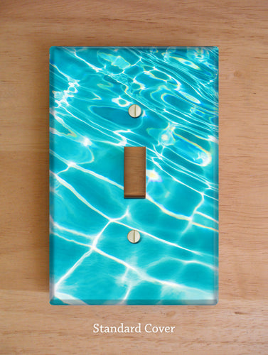 Pool Ripples Wall Plates