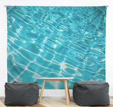 Pool Ripples Wall Tapestry