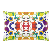 Rainbow Splash Pillow Sham