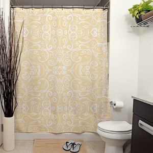 Silent Era Shower Curtains 70x83