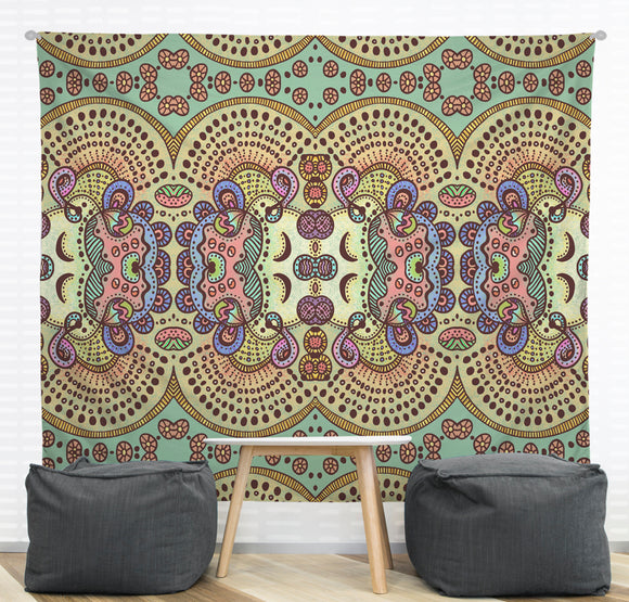 Spring Pastels Wall Tapestry