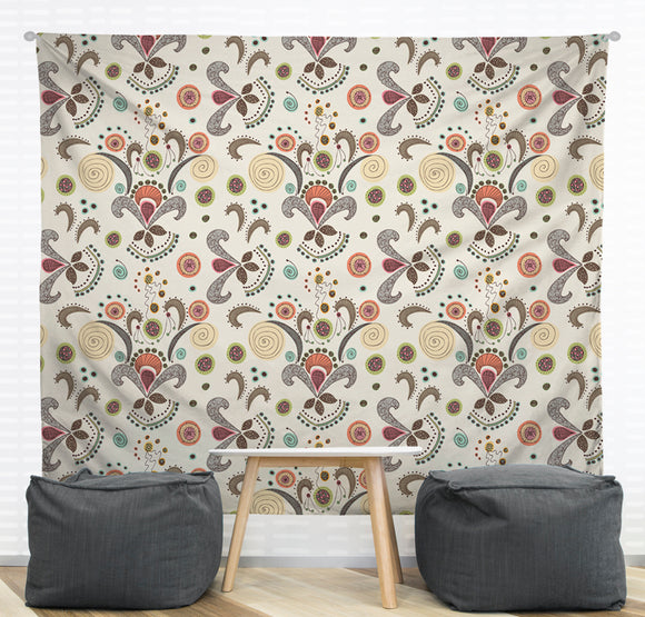 Wired Flower Wall Tapestry