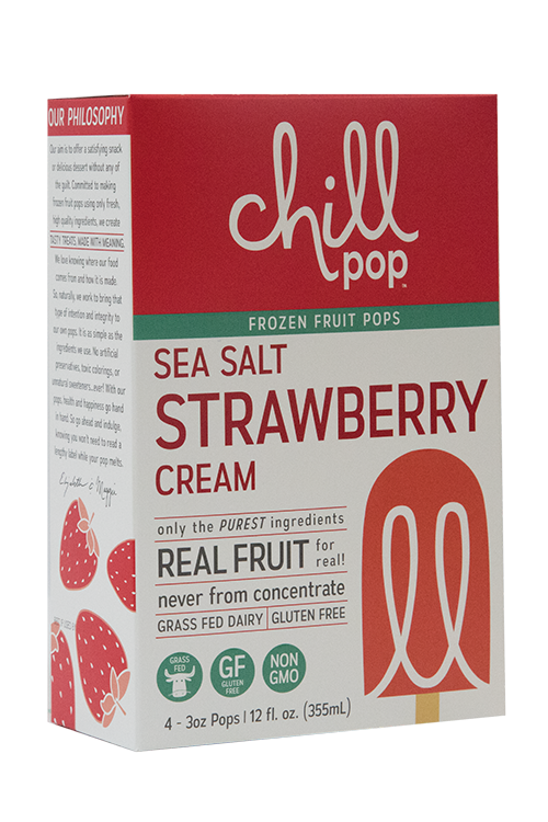 Sea Salt Strawberry Cream