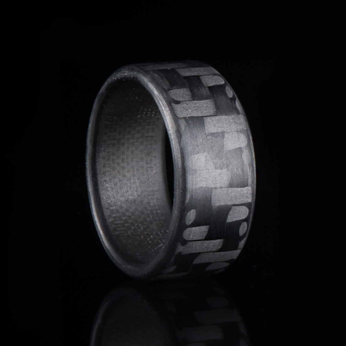 Carbon fiber ring band