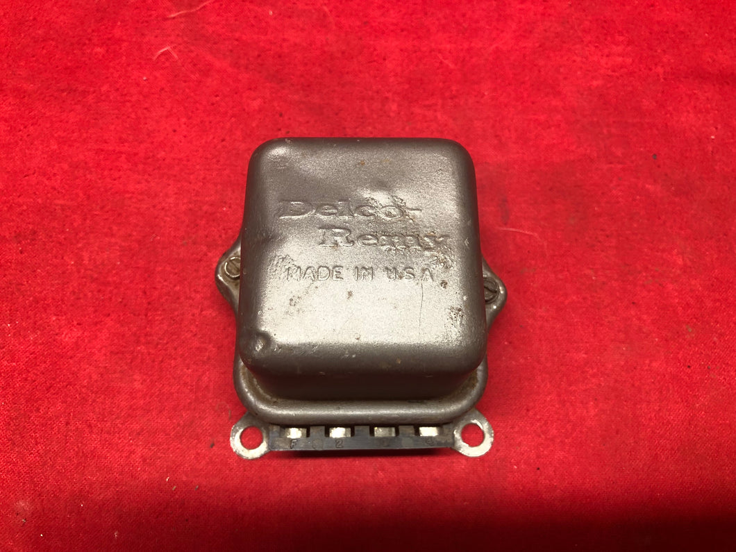 1964-72 GM Voltage Regulator Chevelle GTO Cutlass Skylark - Sundellauto Specialties Chevelle, El Camino, Malibu, Impala, Caprice, Biscayne, Bel Air, Camaro, Nova, Chevy II, GTO, LeMans, Tempest, Bonneville, Grand Prix, Catalina, Ventura, Skylark, Special, GS, Riviera, Gran Sport, Wildcat, Cutlass, Cutlass Supreme, 442, F-85, and Vista Cruiser  Original