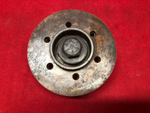 Load image into Gallery viewer, 1965 GTO LeMans Tempest Harmonic Blancer Mounting Hub - Sundellauto Specialties Chevelle, El Camino, Malibu, Impala, Caprice, Biscayne, Bel Air, Camaro, Nova, Chevy II, GTO, LeMans, Tempest, Bonneville, Grand Prix, Catalina, Ventura, Skylark, Special, GS, Riviera, Gran Sport, Wildcat, Cutlass, Cutlass Supreme, 442, F-85, and Vista Cruiser Used Original