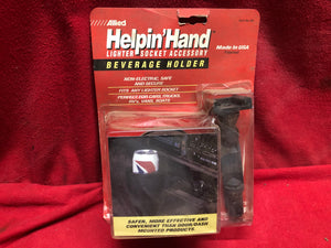 Helping Hand Cup Holder for Cigarette lighter - Sundellauto Specialties Chevelle, El Camino, Malibu, Impala, Caprice, Biscayne, Bel Air, Camaro, Nova, Chevy II, GTO, LeMans, Tempest, Bonneville, Grand Prix, Catalina, Ventura, Skylark, Special, GS, Riviera, Gran Sport, Wildcat, Cutlass, Cutlass Supreme, 442, F-85, and Vista Cruiser  Original