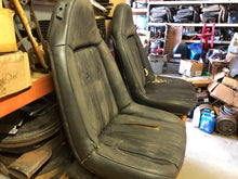 Load image into Gallery viewer, 73-77 GM Swivel Bucket Seats Pair Black - Sundellauto Specialties