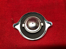 Load image into Gallery viewer, NOS 1967-8 Chevelle El Camino 396 Remote Power Steering Reservoir Cap - Sundellauto Specialties Chevelle, El Camino, Malibu, Impala, Caprice, Biscayne, Bel Air, Camaro, Nova, Chevy II, GTO, LeMans, Tempest, Bonneville, Grand Prix, Catalina, Ventura, Skylark, Special, GS, Riviera, Gran Sport, Wildcat, Cutlass, Cutlass Supreme, 442, F-85, and Vista Cruiser Power Steering Reservoir Cap Original